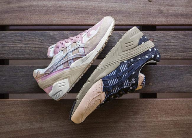 newest 4c936 34bae Asics Gel Sight Japanese Denim Pack | SneakerFiles