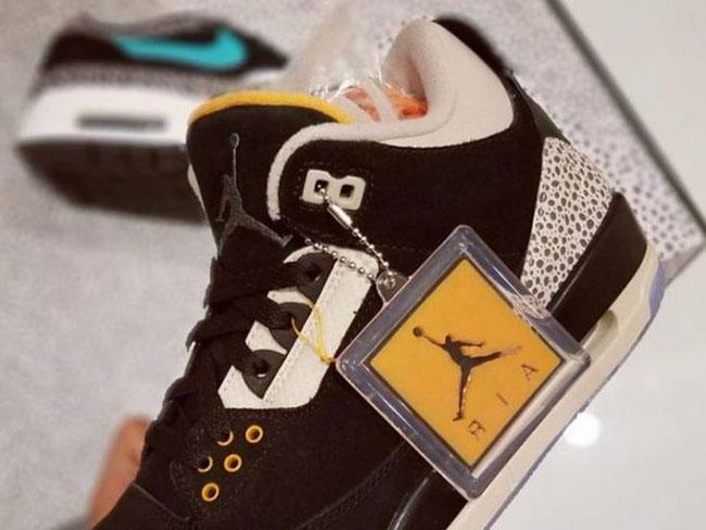 Atmos Air Jordan 3 Safari Release Date SneakerFiles  SneakerFiles