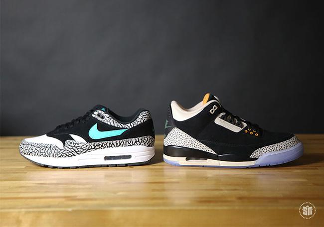 8327cd8dee2f Air Jordan 3 Atmos Nike Air Max 1 Pack Release Info