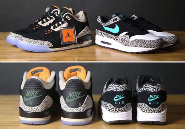 Atmos Nike Air Jordan Pack