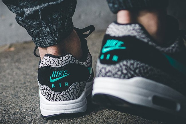 Atmos Nike Air Max 1 Elephant On Feet