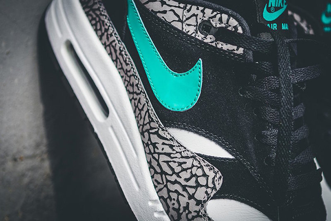 Atmos Nike Air Max 1 Elephant On Feet