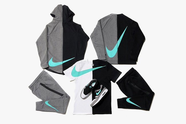 atmos Nike Sportswear Jade Tech Fleece Collection