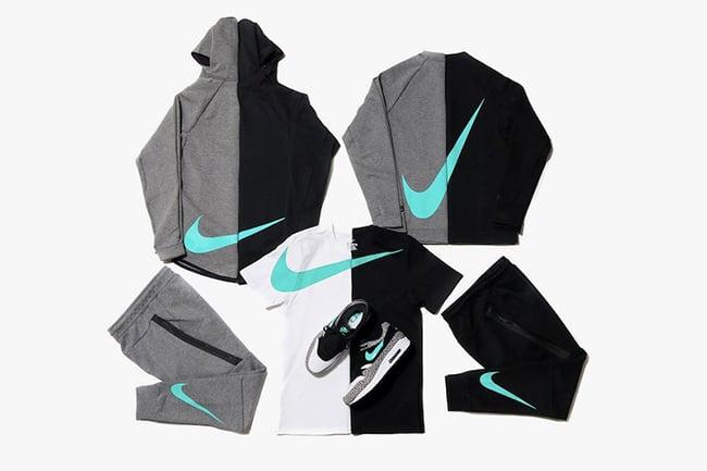atmos Nike Sportswear Jade Tech Fleece Collection
