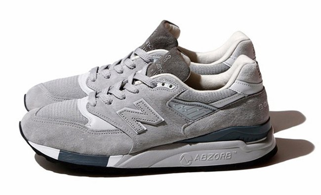 BEAMS x New Balance 998 Grey