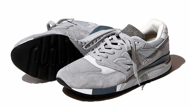 BEAMS x New Balance 998 Grey