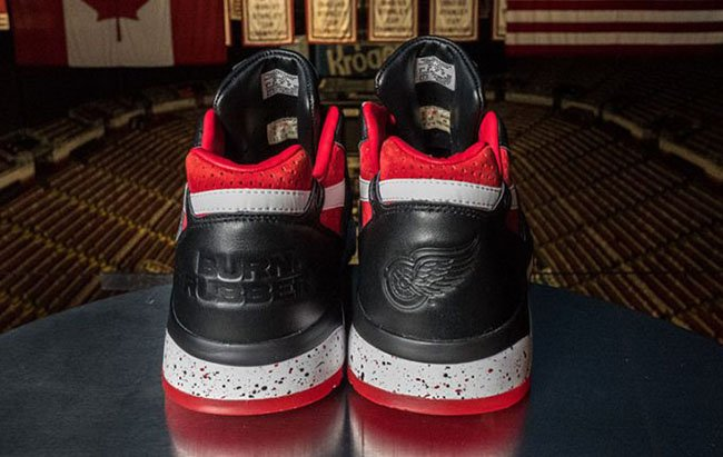 Burn Rubber x Detroit Red Wings x Reebok Bolton