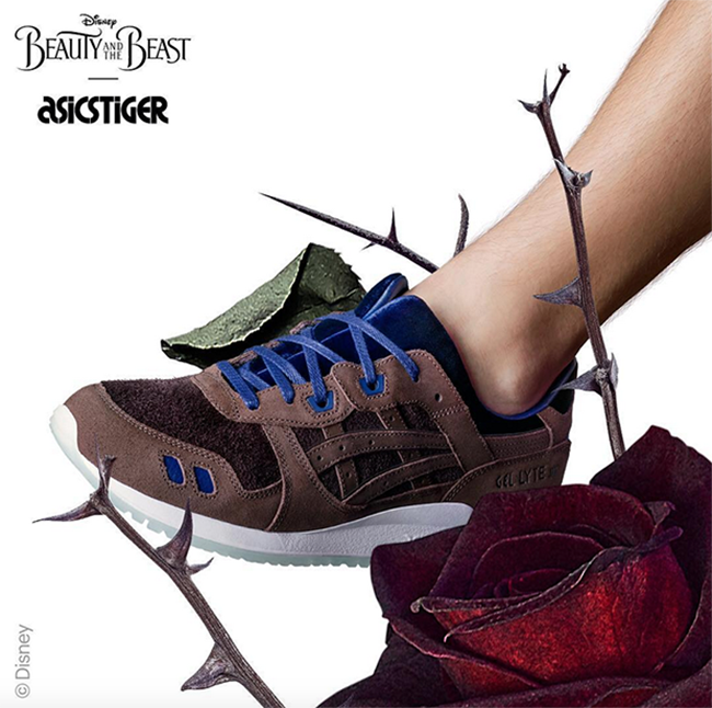 Disney x Asics Gel Lyte III Beauty and the Beast