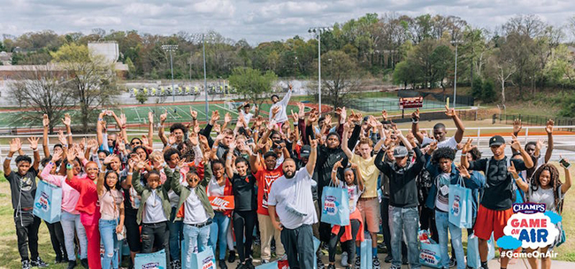 DJ Khaled Champs Sports Air Max Day