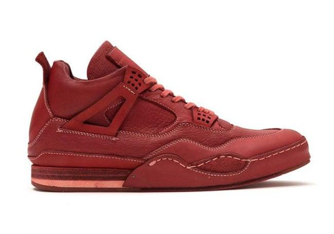 Hender Scheme Air Jordan 4 Red Black