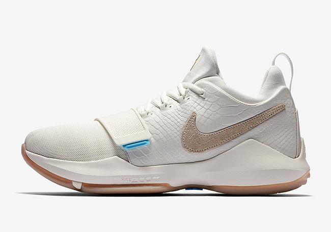 Ivory Nike PG 1 Gum