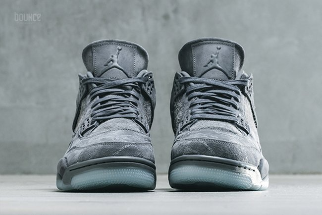 5cc356bce39 KAWS Air Jordan 4 Cool Grey 930155-003 Release Info | SneakerFiles