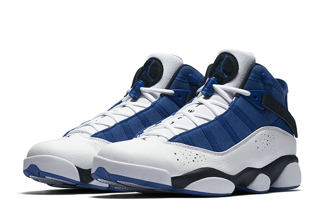 Jordan Six 6 Rings Blue White Black