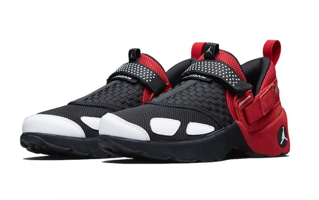 d81ddc374272 Jordan Trunner LX OG Black Red White Release Date