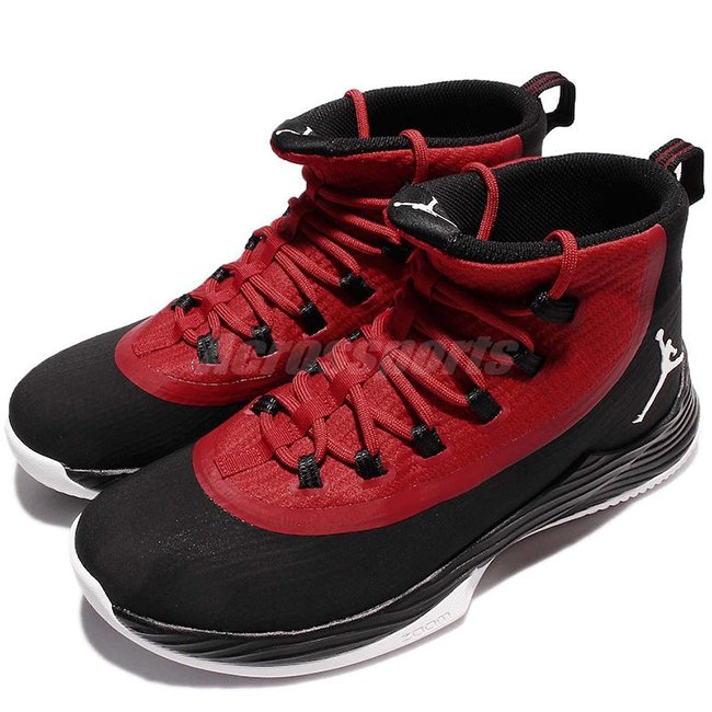 Jordan Ultra Fly 2 Black Gym Red White