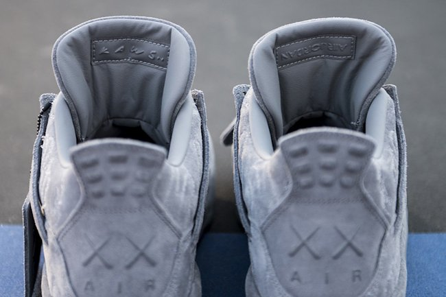 KAWS Air Jordan 4 On Foot