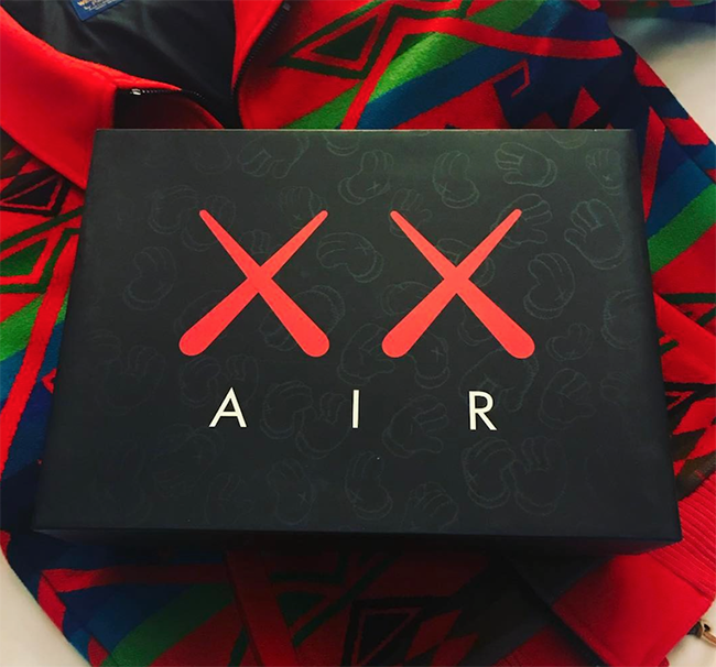 KAWS Air Jordan 4 Box