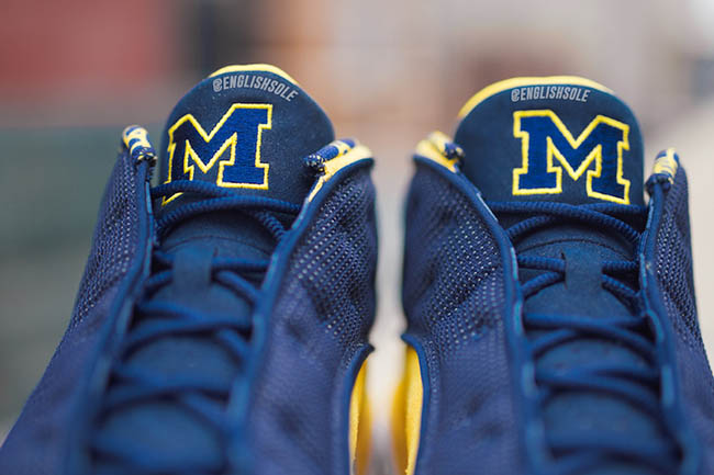 Michigan Air Jordan 13 Low PE