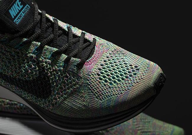 Multicolor Nike Flyknit Racer 2017 Release Date
