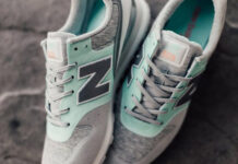 New Balance 696 Re-Engineered Mint Grey