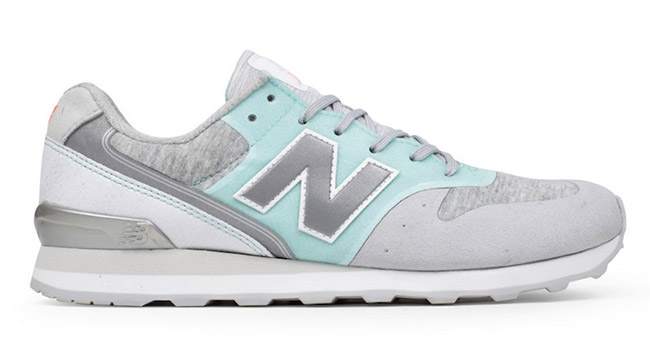 New Balance 696 Re-Engineered Mint Grey