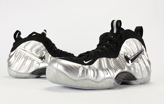 huge selection of 3cb04 684f1 Nike Air Foamposite Pro Silver Surfer Release Date ...
