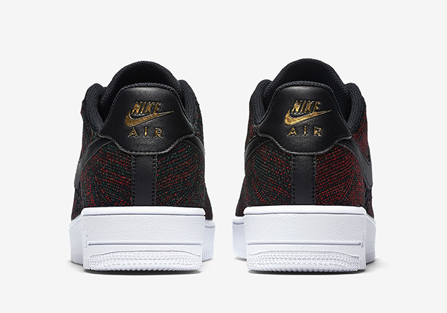 Nike Air Force 1 Flyknit Low Burgundy