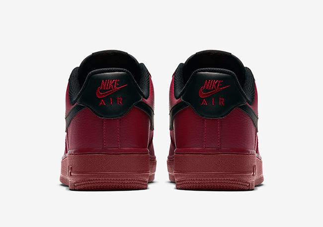 Nike Air Force 1 Low Team Red Black