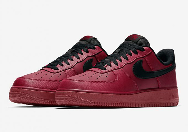 Nike Air Force 1 Low Team Red Black 315122-614  298746a45