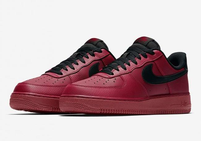 Nike Air Force 1 Low Team Red Black 315122 614 | SneakerFiles