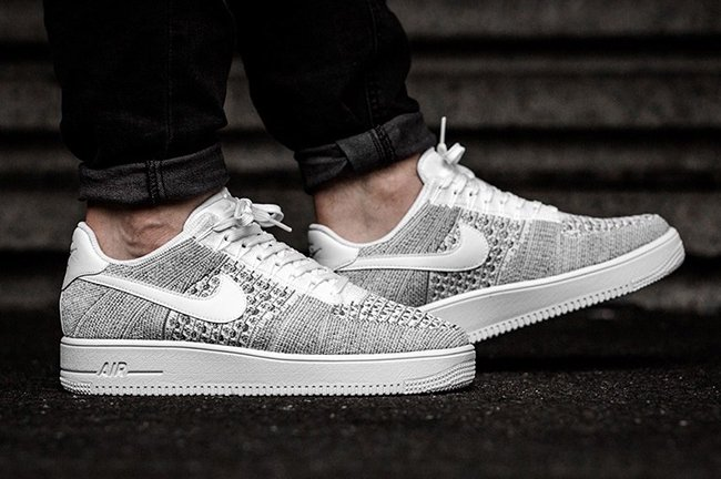 Nike Air Force 1 Ultra Flyknit Low Cool Grey