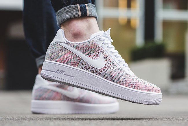 Nike Air Force 1 Ultra Flyknit Low White Multicolor
