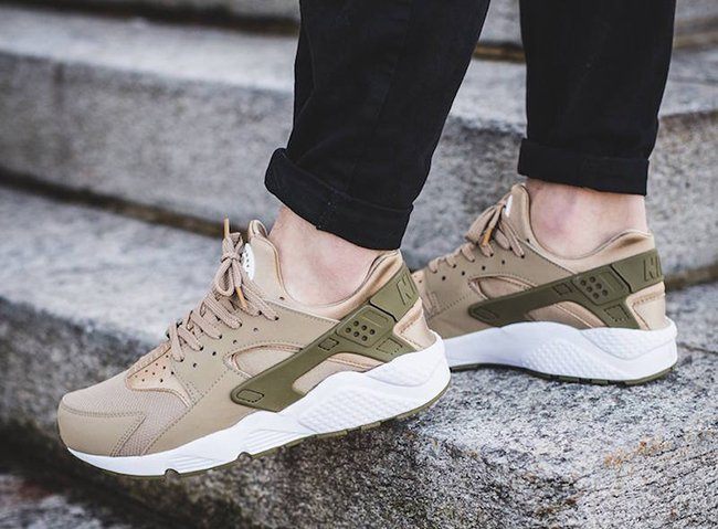 2c04a70d6c3f29 Nike Air Huarache Khaki Medium Olive 318429-200