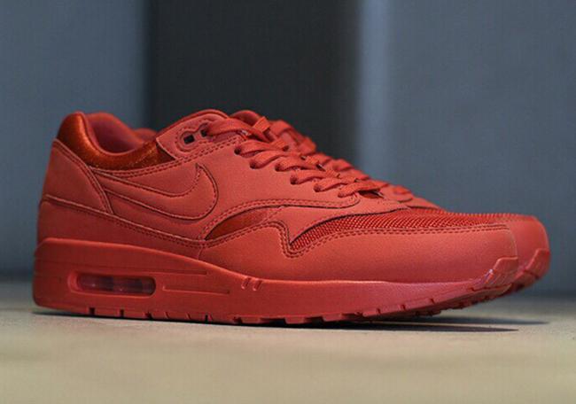 Nike Air Max 1 Premium Red 2017