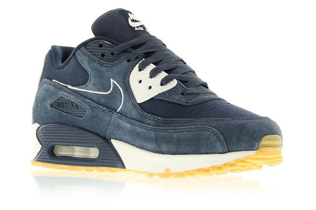 reputable site 5257a c6b0e Nike Air Max 90 Premium Armory Navy 700155-403 | SneakerFiles