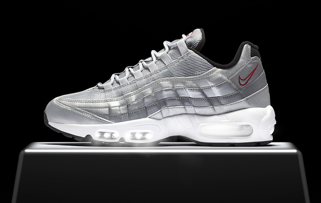 nike air max 95 silver bullet 918359 001 release date. Black Bedroom Furniture Sets. Home Design Ideas