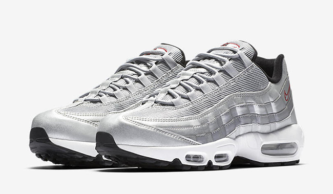 Nike Air Max 95 Silver Bullet Release