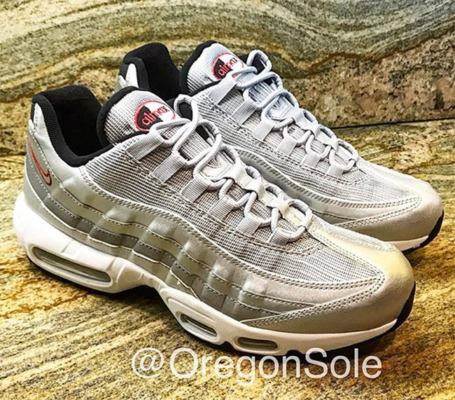 Nike Air Max 95 Silver Bullet Release Date