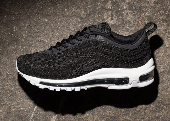 Nike Air Max 97 Plus in Black & White