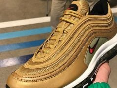 Nike Air Max 97 Metallic Gold 2017