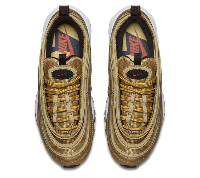Nike Air Max 97 OG GS Metallic Gold