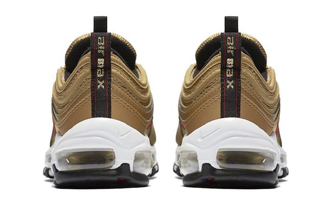 Nike Air Max 97 OG GS Metallic Gold