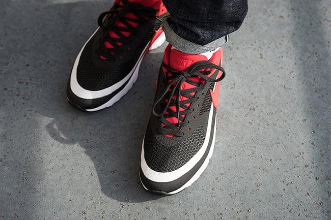 Nike Air Max BW Ultra SE Black Red White