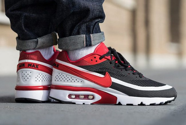 wholesale dealer b9e89 426af Nike Air Max BW Ultra SE Black Red White .
