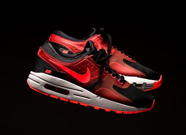 Nike Air Max Zero Essential Bright Crimson Black