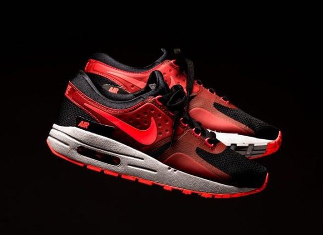 9333fba3fef6 Nike Air Max Zero Essential Bright Crimson Black 881224-005 ...