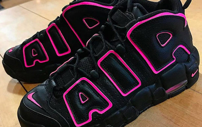 Nike Air More Uptempo Black Hyper Pink Release Date