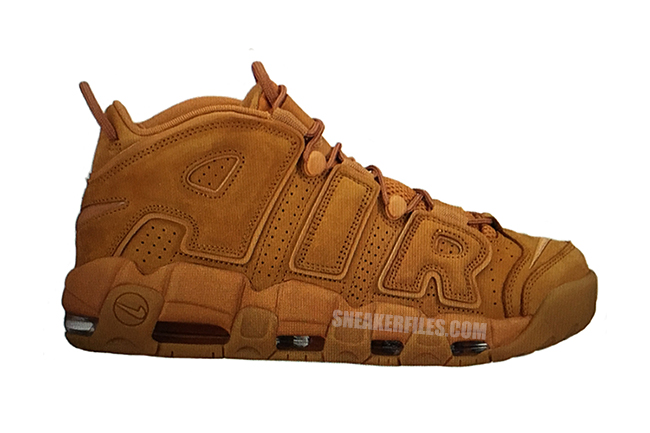First Look: Nike Air More Uptempo 'Wheat'
