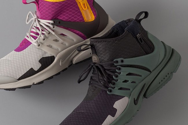 Nike Air Presto Mid SP March 2017 Colorways