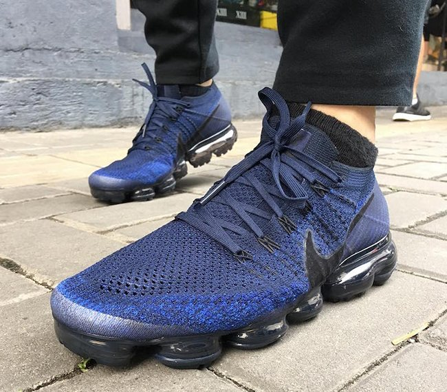 Nike Air VaporMax College Navy Game Royal 849558-400 Release Date